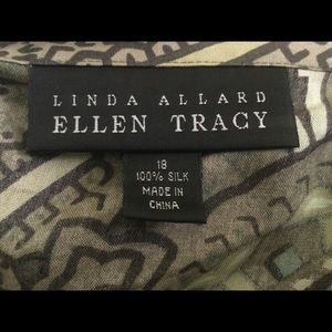 Ellen Tracy Skirts - Ellen Tracy Silk Wrap Skirt and Halter Top